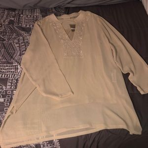 Chico's Sheer Blouse